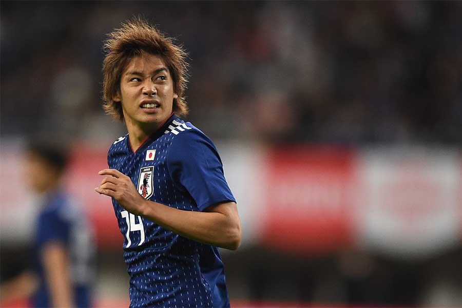 日本代表MF伊東純也【写真:Getty Images】