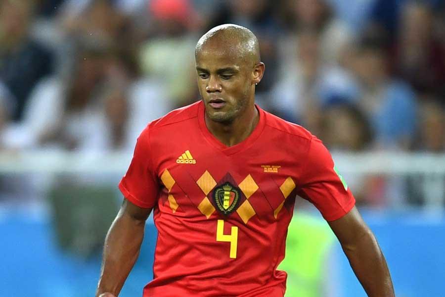 ベルギー代表DFコンパニ【写真:Getty Images】
