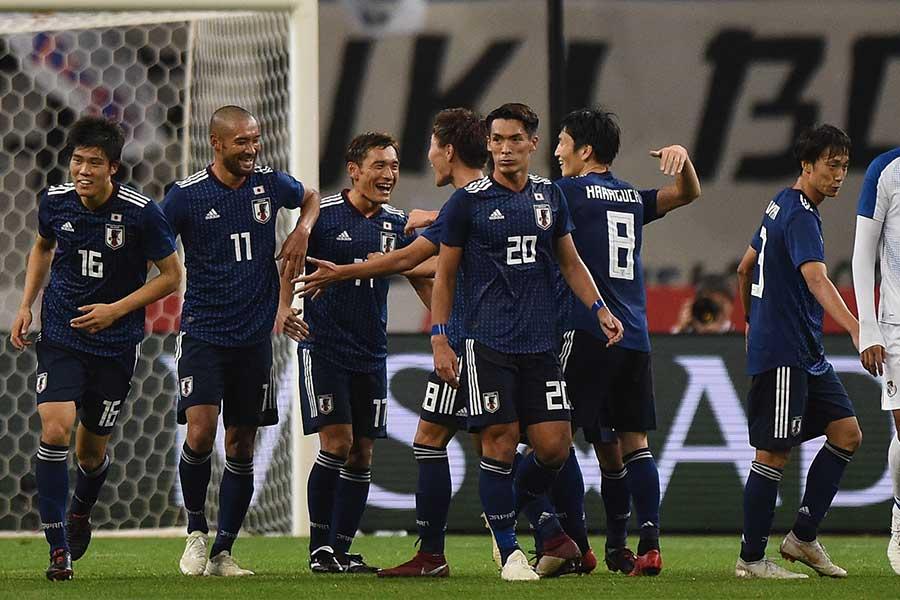 日本代表はパナマ戦で3-0と快勝し、新体制2連勝を飾った【写真:Getty Images】