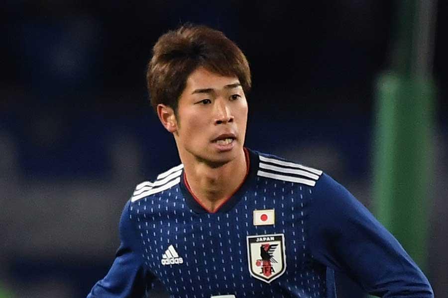 日本代表DF三浦弦太【写真:Getty Images】