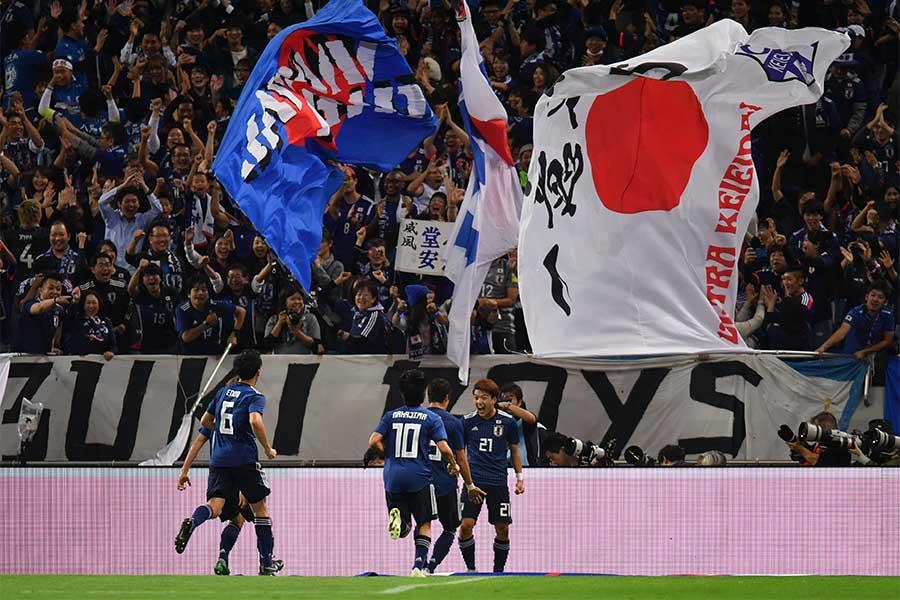 日本代表、世界5位ウルグアイを4-3撃破【写真:Getty Images】