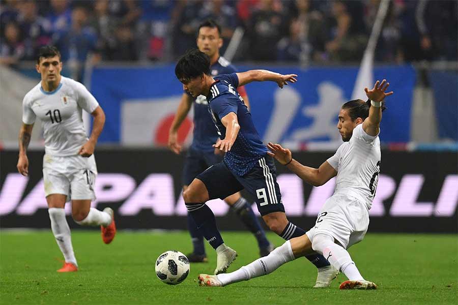 日本代表、世界5位ウルグアイを4-3撃破!【写真:Getty Images】