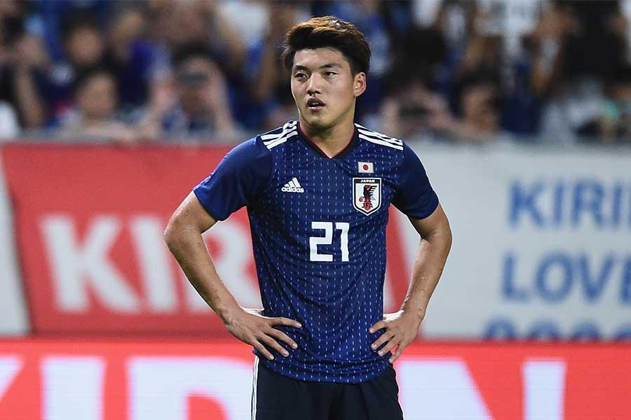 日本代表MF堂安律【写真:Getty Images】