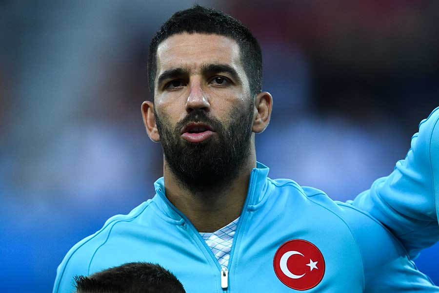 トルコ代表MFアルダ・トゥラン【写真:Getty Images】