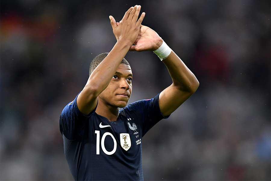 フランス代表FWムバッペ【写真:Getty Images】
