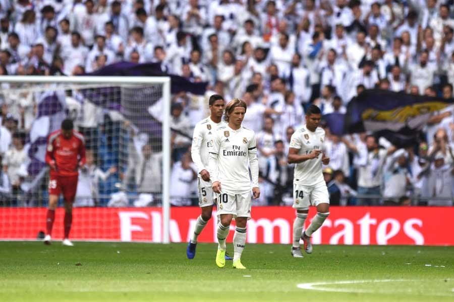 公式戦5試合未勝利となったレアル・マドリード【写真:Getty Images】