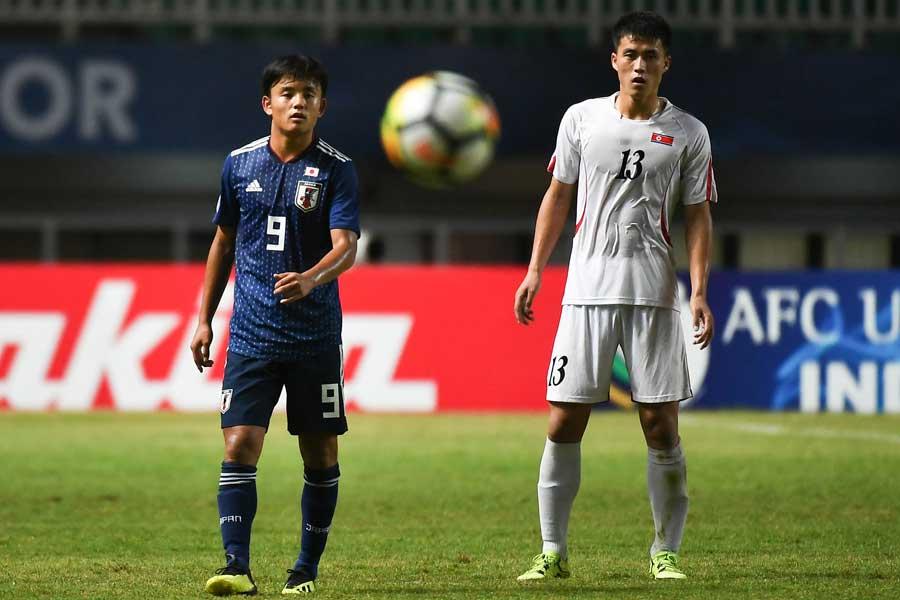 U-19アジア選手権、日本代表は2点差を追い付かれ後半へ【写真:ⒸAFC】