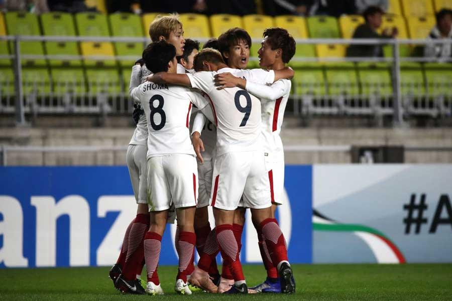 鹿島アントラーズ、クラブ初のACL決勝進出!【写真:Getty Images】