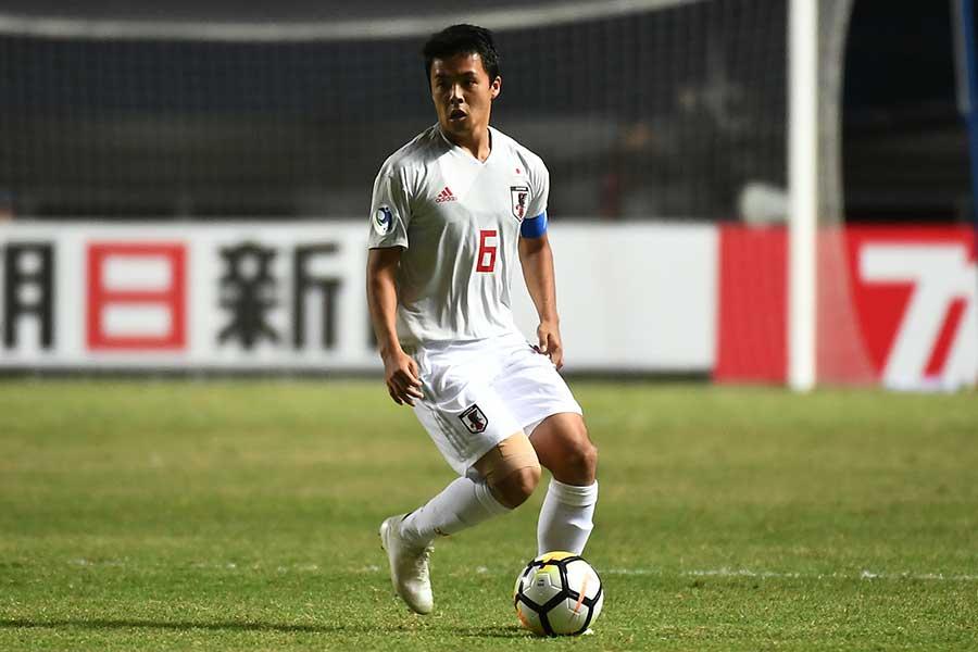 U-19日本代表MF齊藤未月【写真:ⒸAFC】