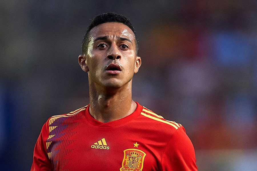 スペイン代表MFチアゴ・アルカンタラ【写真:Getty Images】