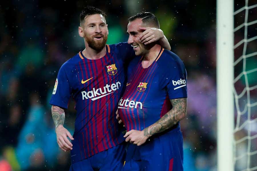 ブンデスリーガ4試合で7ゴールを荒稼ぎしているFWアルカセル、バルサ在籍時メッシとの経験に感謝の意を表した【写真:Getty Images】