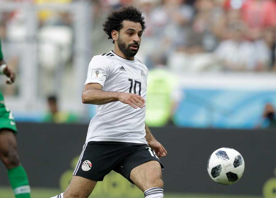 エジプト代表のFWモハメド・サラー【写真:AP】