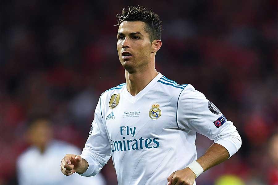 レアルで圧倒的な得点力を誇ったC・ロナウド【写真:Getty Images】