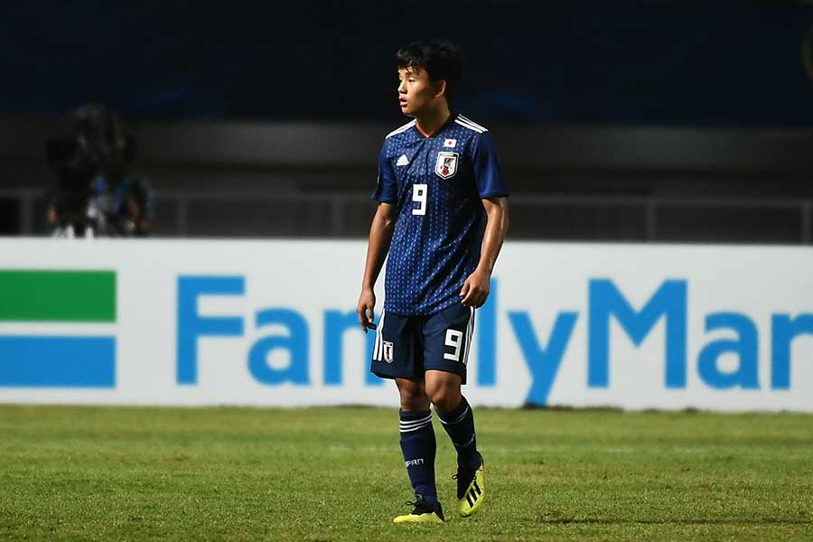 U-19日本代表FW久保建英【写真:ⒸAFC】