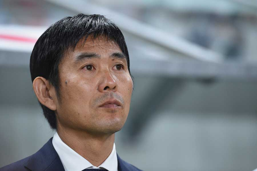 日本代表を率いる森保監督【写真:Getty Images】