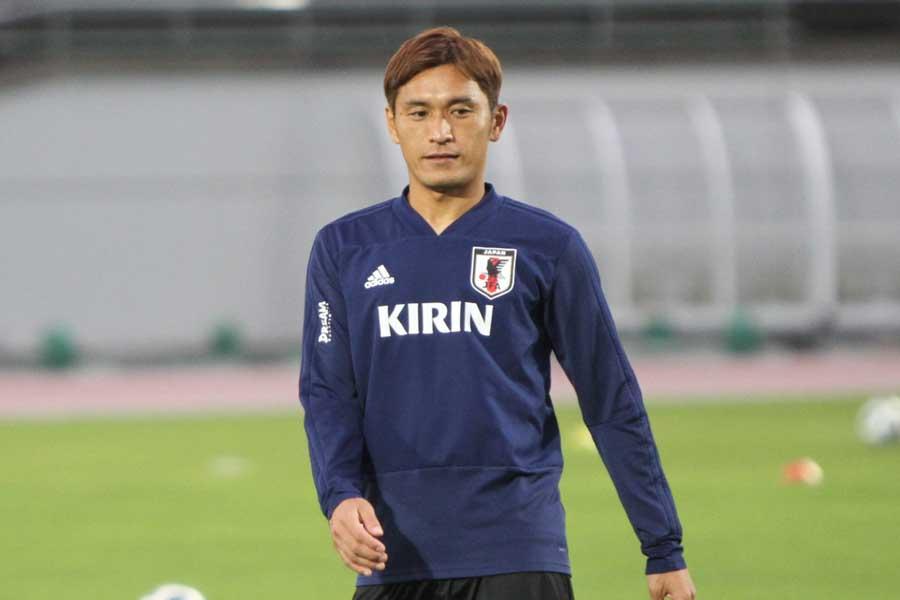 日本代表MF青山敏弘【写真:Football ZONE web】