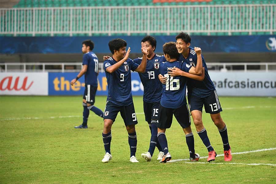 U-19日本代表、17歳久保が2点に絡む活躍【写真:ⒸAFC】
