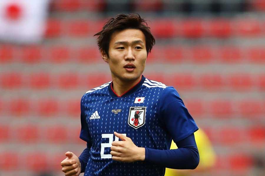 日本代表のMF三竿健斗【写真:Getty Images】
