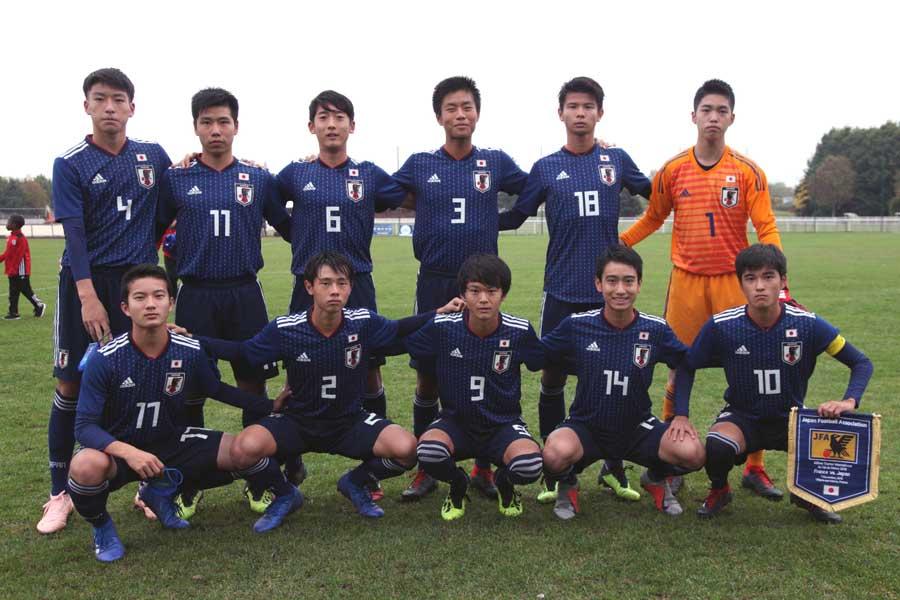 U-15日本代表【写真:Tomoko Yasuda】