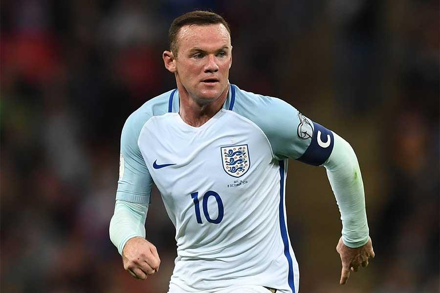 チャリティーマッチで1試合限定のイングランド代表復帰を果たすルーニー【写真:Getty Images】