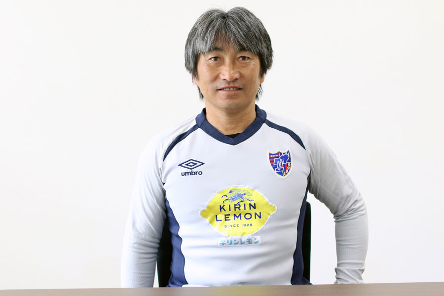 FC東京の安間コーチ【写真:Football ZONE web】