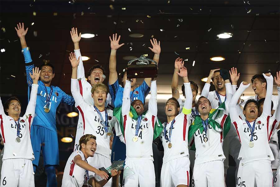 鹿島アントラーズがクラブ史上初のアジア王者に輝いた【写真:Getty Images】
