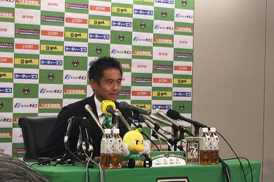 現役引退を発表したGK川口能活が理想のGK像に言及【写真:Football ZONE web】