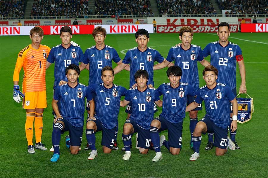 森保ジャパンが23選手の背番号を発表【写真:田口有史】