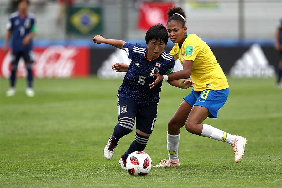 U-17女子W杯初戦はブラジルと0-0ドロー【写真:Getty Images】