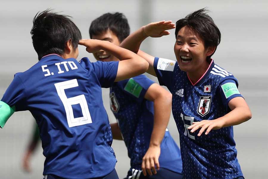 リトルなでしこ、6発大勝でU-17女子W杯初勝利【写真:Getty Images】