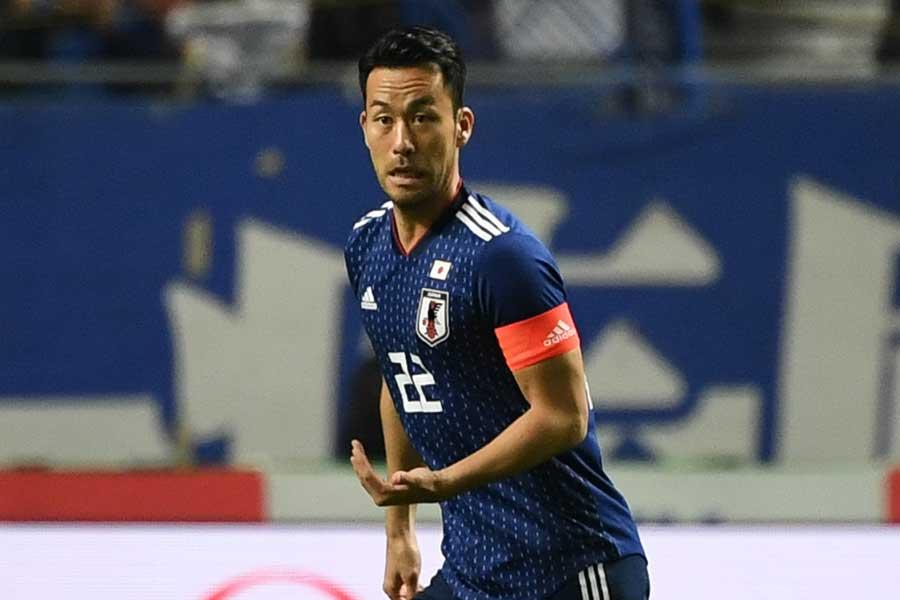 次戦に出場すると、日本代表通算89試合に到達するDF吉田【写真:Getty Images】