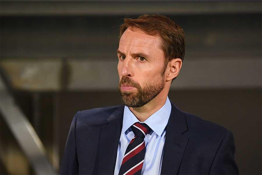イングランド代表を率いるサウスゲイト監督【写真:Getty Images】