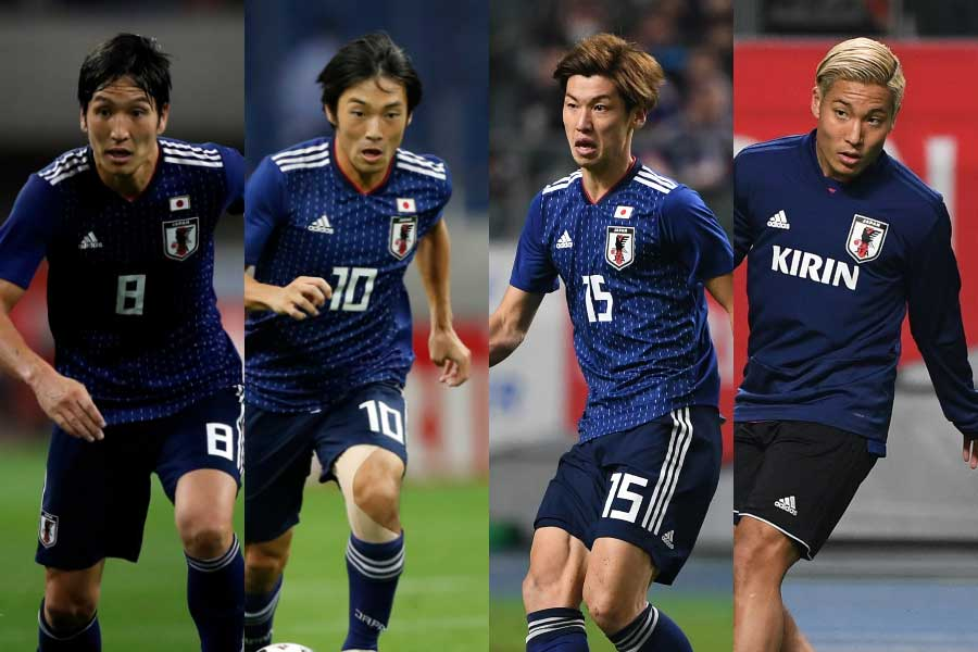 日本代表、キルギスを寄せ付けず4-0と完勝【写真:Getty Images & 田口有史】