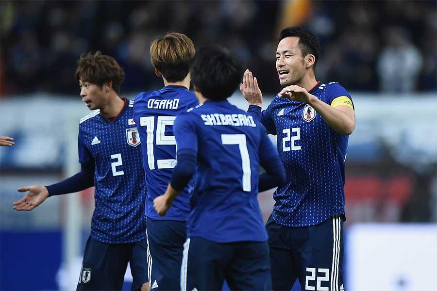 日本がキルギスに4-0圧勝【写真:Getty Images】