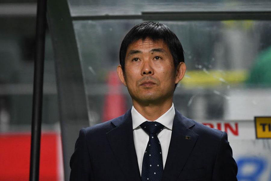 日本代表の森保監督【写真:Getty Images】