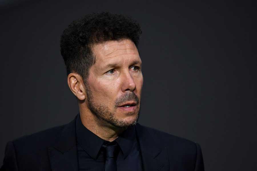 アトレチコ・マドリードを率いるシメオネ監督【写真:Getty Images】