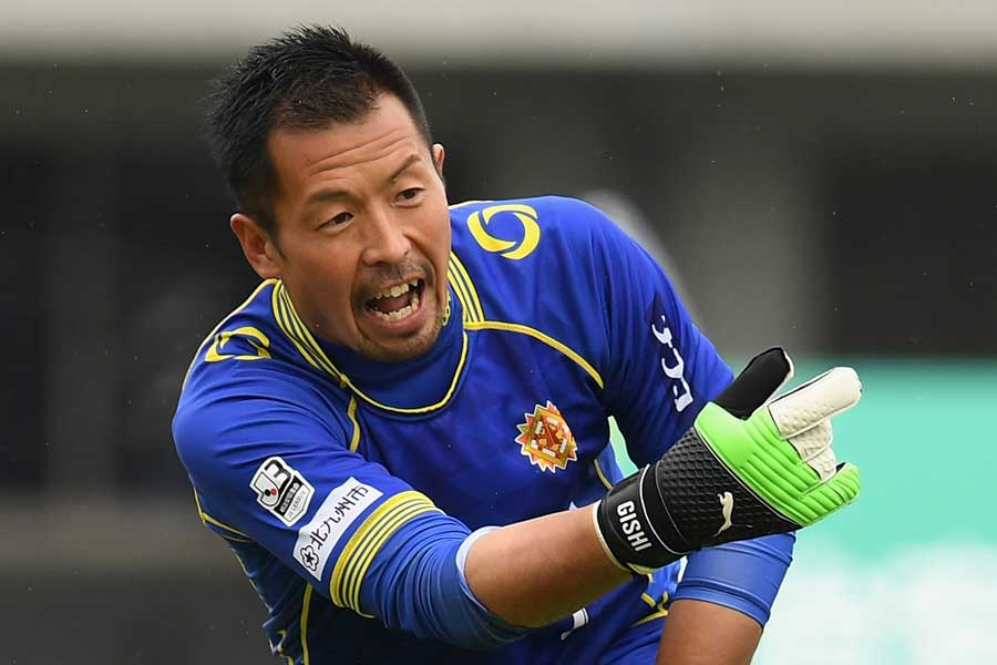 GK山岸範宏が現役引退を発表した【写真:Getty Images】
