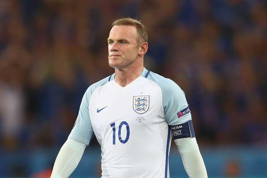 アメリカ代表との国際親善試合でイングランド代表復帰を果たすルーニー【写真:Getty Images】