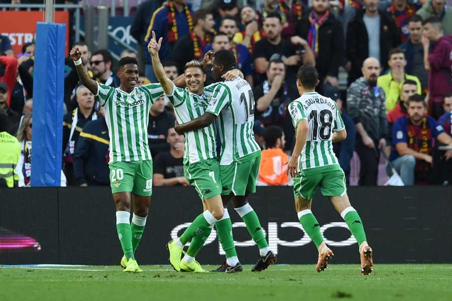 公式戦5試合ぶりの勝利をバルセロナから奪ったベティス【写真:Getty Images】