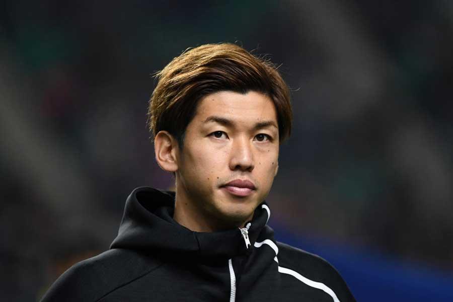 日本代表のFW大迫勇也【写真:Getty Images】