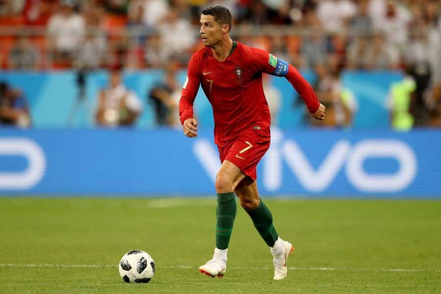 ロシア・ワールドカップを終えた後は代表チームでプレーしていないロナウド【写真:Getty Images】