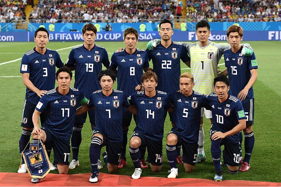 日本代表はベルギーをあと一歩のところまで追い詰めた【写真:Getty Images】