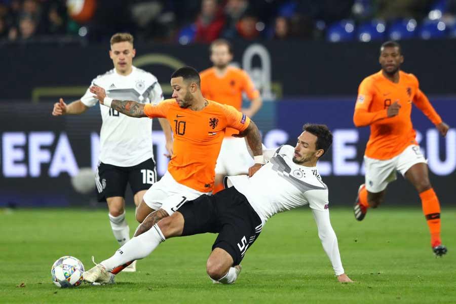"""2020年のEURO予選の組分けが決定し、オランダとドイツが""""再戦""""することとなった【写真:Getty Images】"""