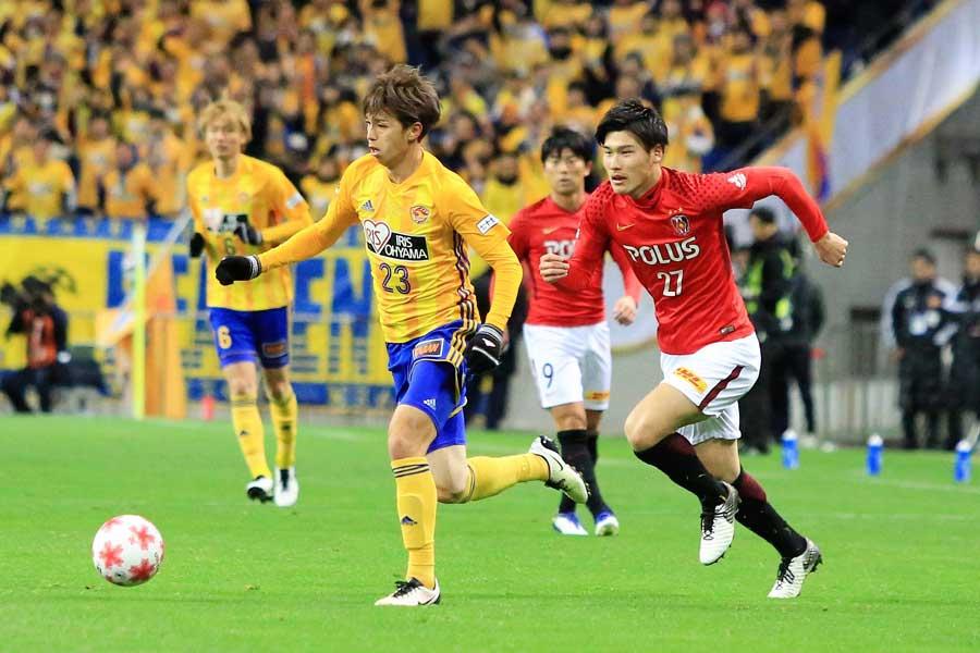 浦和レッズが1点のリードを守り切り、天皇杯優勝!【写真:Noriko NAGANO】