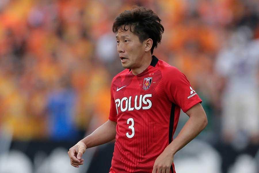 MF宇賀神のゴールで浦和レッズが1-0で後半へ【写真:Getty Images】