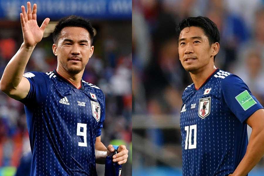 FW岡崎とMF香川の不在にアジア杯開催国UAE紙がスポットを当てている【写真:Getty Images】