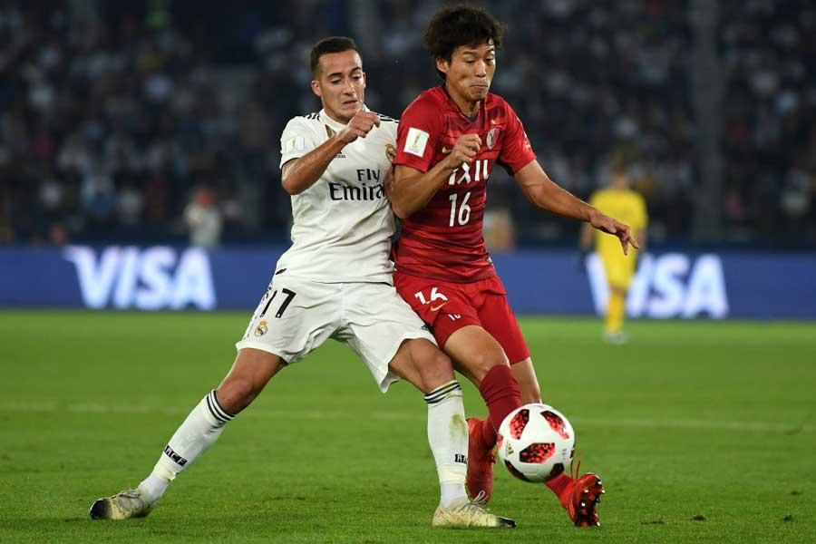 レアル・マドリードとの試合は、世界のトップレベルとの差を痛感する一夜になった【写真:Getty Images】