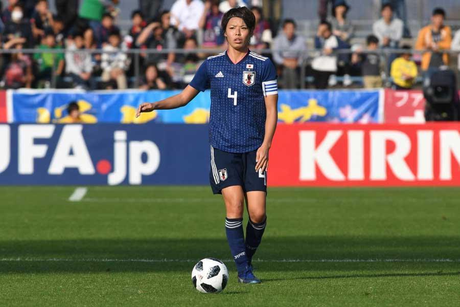 日本女子代表DF熊谷【写真:Getty Images】