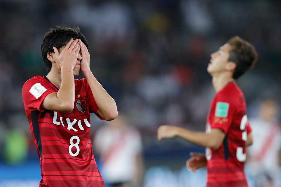 クラブW杯3位決定戦、鹿島アントラーズはリーベル・プレートに0-4で完敗を喫した【写真:Getty Images】