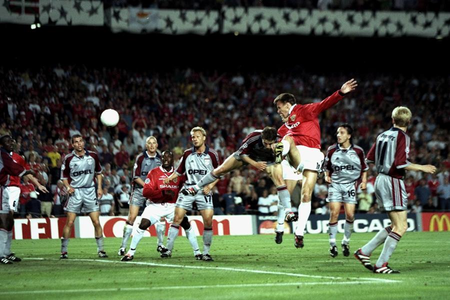 伝説の試合として、サッカーファンの記憶に残っている1999年のUEFAチャンピオンズリーグ(CL)決勝【写真:Getty Images】